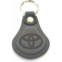 Kožená kľúčenka / prívesok na kľúče Toyota šedá