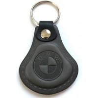 Kožená kľúčenka BMW šedá