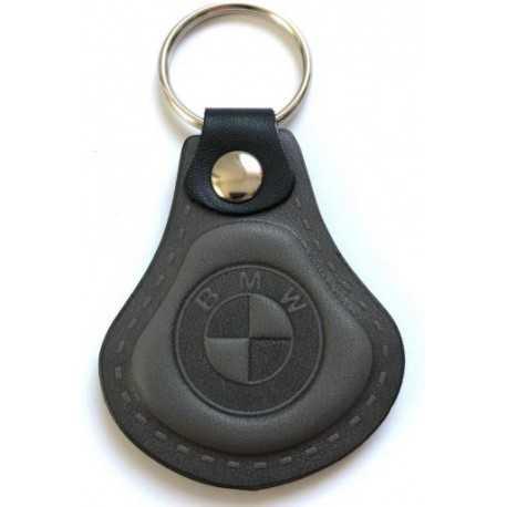 Kožená kľúčenka / prívesok na kľúče BMW šedá