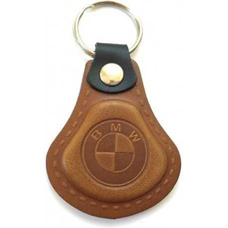 Kožená kľúčenka BMW hnedá GRANDX
