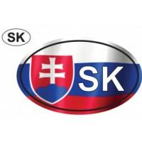 Samolepka - SK farebná so znakom veľkosť L (C3)