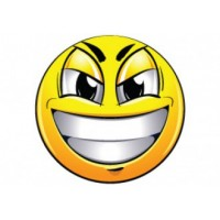 Samolepka na stredy kolies živicová 4ks - SMILE (C13)