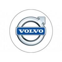 Samolepka na stredy kolies živicová 4ks - VOLVO (C13)