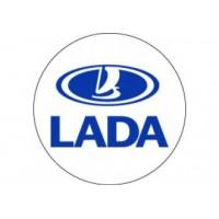 Samolepka na stredy kolies živicová 4ks - LADA (C13)