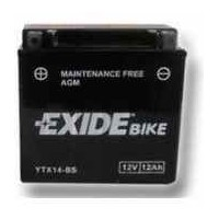 Exide moto 12V/12Ah 200A YTX14-BS