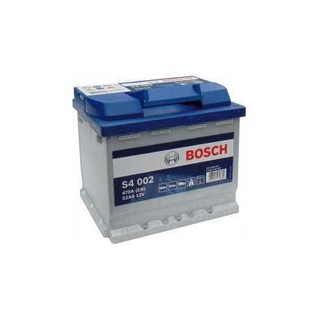 Bosch S4 002 12V/52Ah Blue