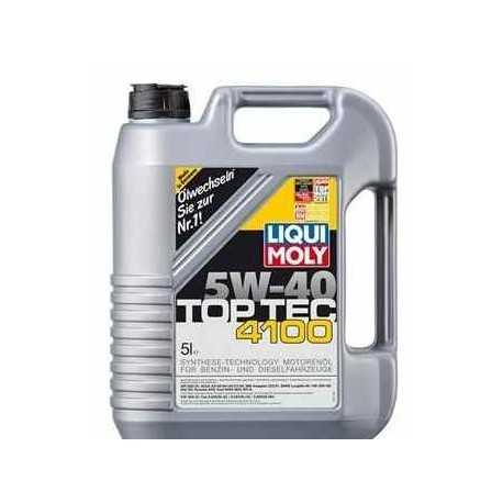 Liqui Moly 3701 Motorový olej TopTec 4100 5W-40 5L