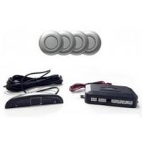 Parkovací asistent zadný - zvuková signalizácia + displej, 4x senzor STRIEBORNÉ