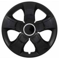 Puklica 15 BIS RING BLACK 4ks