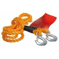 Ťažné lano s hákmi 4 000 až 6 000kg dĺžka 4m