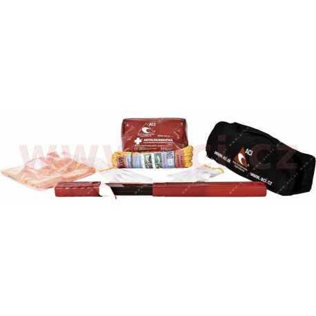 Povinná výbava - set-lekárnička, trojuholník, lano (2t), vesta, rukavice