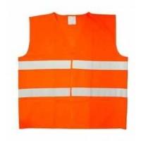 Vesta reflexná oranžová (veľkosť XXL) (podľa normy EN 20471:2013)