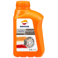 REPSOL MOTO DOT4 BRAKE FLUID 0,5L