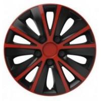 Puklice 13 Rapide red&black VERSACO, 4ks