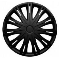 Puklice 15 Spark black VERSACO, 4ks