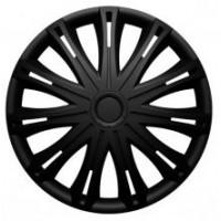 Puklice 16 Spark black VERSACO, 4ks