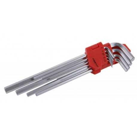 Sada imbusových kľúčov 1,5-10 MM predĺžené, 9ks, FESTA 18490