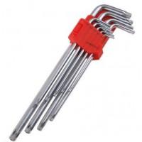 Sada kľúčov predĺžená TORX T10-T50 9ks, FESTA 18491