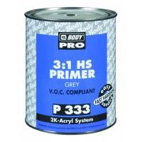 HB BODY PRIMER P333 HS 3:1 plnič šedý 1L
