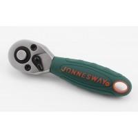 Račňa 1/4in. 36-zubová krátka JONN s PVC rukov.