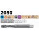 Závitník 371/2050 M3x0,5 ISO2 HSSCo5