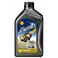 SHELL ADVANCE 4T ULTRA 15W-50 1L