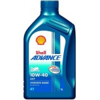 SHELL ADVANCE 4T AX7 10W-40 1L