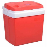 Chladiaci box Compass 30 l RED 220 / 12 V