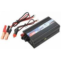 Trafo menič 12/220V - 550W + USB výstup