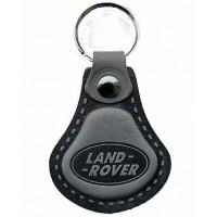 Kožená kľúčenka Land Rover šedá