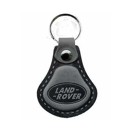 Kožená kľúčenka / prívesok na kľúče Land Rover šedá