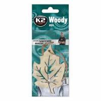 Osviežovač vzduchu Woody Leaf Men K2