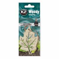 Osviežovač vzduchu Woody Leaf Green Tea K2