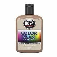 K2 COLOR MAX čierny - vosk na lak