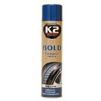 K2 BOLD 600ml Čistič pneumatik spray pena