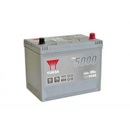 Yuasa YBX5000 12V 75Ah 650A (YBX5068)