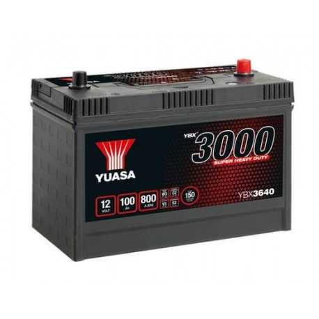 Yuasa 12V 100Ah 800A YBX3640