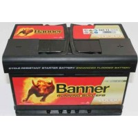 Autobatéria Banner EFB 12V 65Ah 650A 565 12