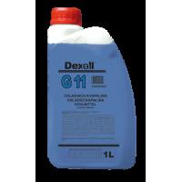 DEXOLL Antifreeze G11 zeleno-modrá 1L