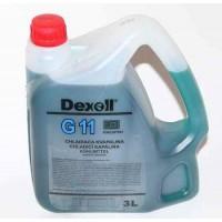 DEXOLL Antifreeze G11 - modrý 3L