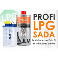 JLM ochrana ventilov sada + 1L aditíva