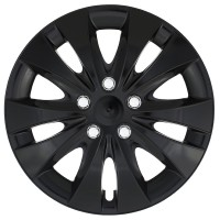 Puklica 15 STORM CHROME BLACK 4ks