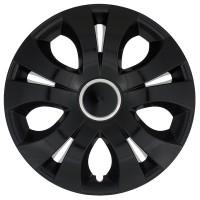 Puklica 14 TOP RING BLACK 4ks