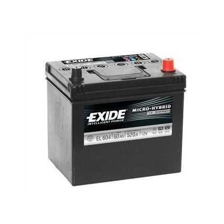Exide ECM 60Ah/12V (EL 604) 520A