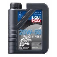 Liqui Moly 1500 MOTOROVÝ OLEJ MOTORBIKE 4T 20W-50 STREET 1L