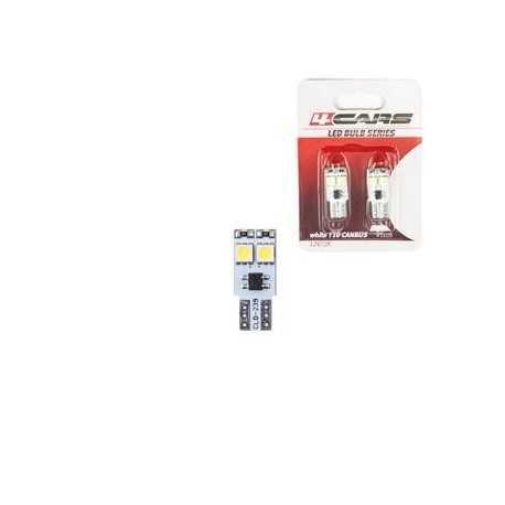 4CARS LED ŽIAROVKA 4LED 12V CANBUS 5050SMD T10