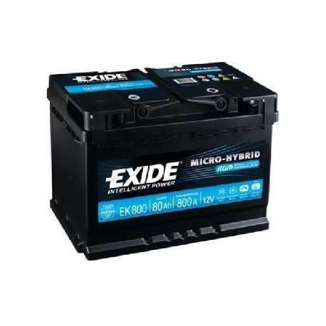 Exide AGM 12V/80Ah (EK800)