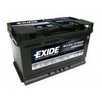 Exide ECM 12V 80Ah 720A EL800