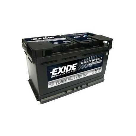 Exide ECM 80Ah/12V (EL 800) 720A