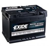Exide EFB 12V 70Ah 630A EL700